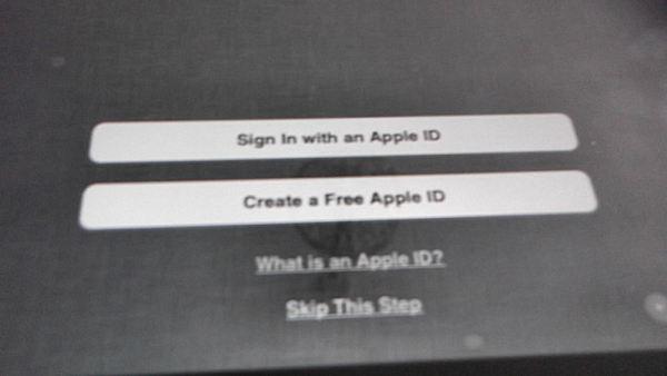 Apple ID Options
