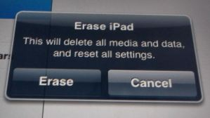 How to Reset / Restore the Apple iPad to Default / Factory Settings and Set Up a New User