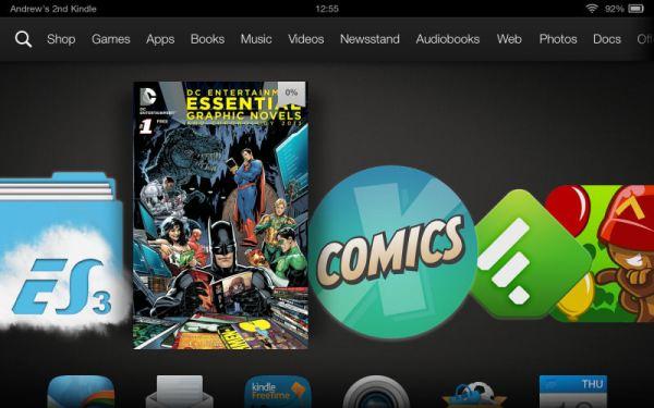 "Amazon Kindle Fire HDX 7"" Tablet Screenshot"
