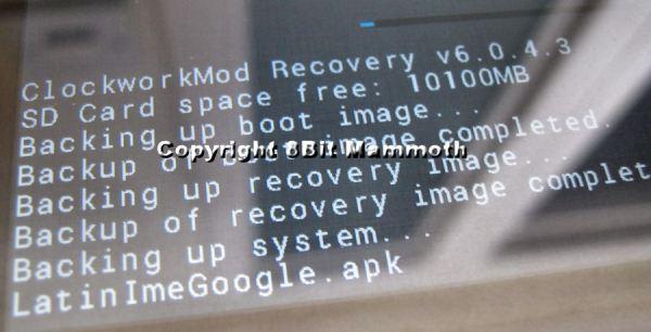 Nexus 7 Backup