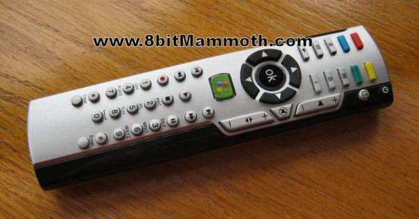 Remote Control Used with XBMC