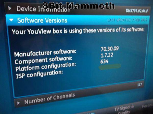 Huawei dn370T software version