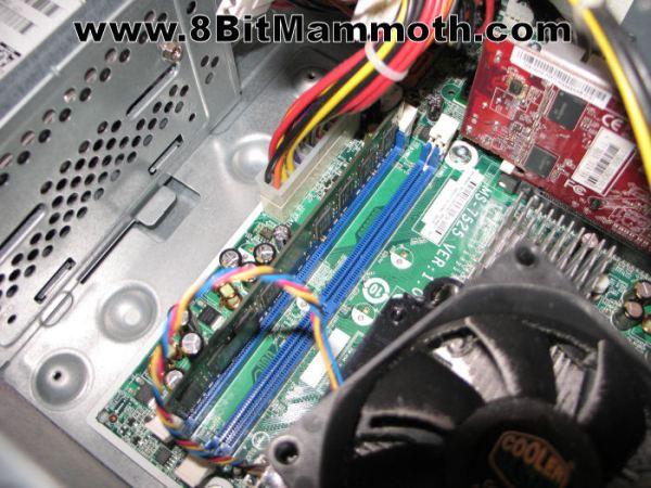 HP Compaq DX2420 Computer Ram Slots