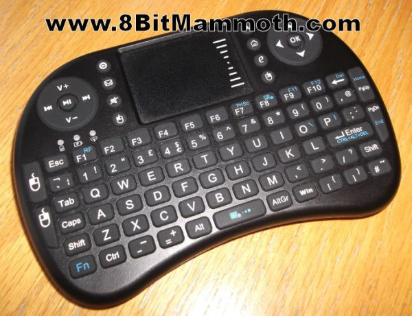 Small 2.4GHz Mini Wireless Keyboard and Mouse