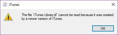Library.itl File Error