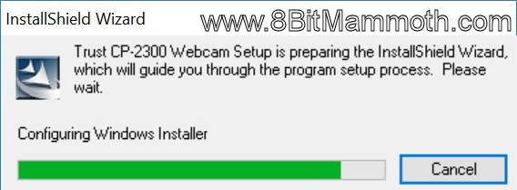 Trust CP-2300 Webcam Setup