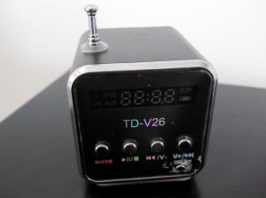 TD-V26 Portable Mini Digital Music Player 'How To Use Guide' / Instructions