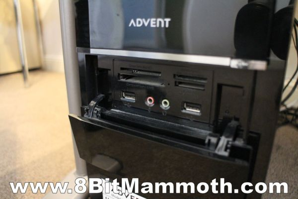 Advent DT2110 Front Panel