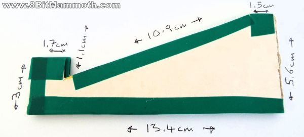 The Cardboard Stand Measurements