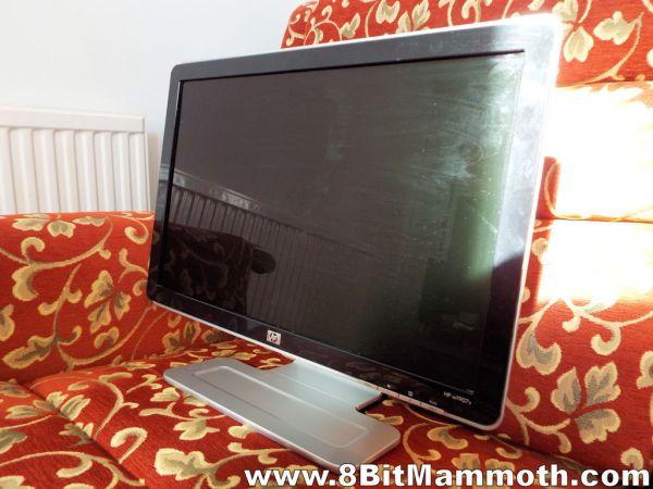 HP w1907v computer monitor
