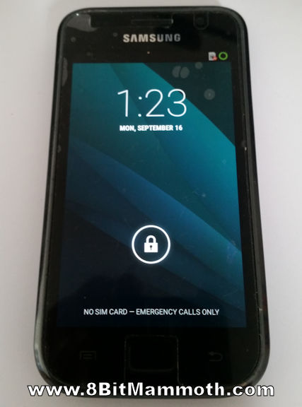 I9000 Lineage Android 4.4.4