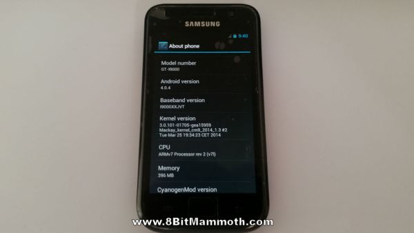 Mackay Android 4.0.4 About Phone