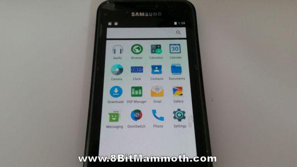 Omni 6.0.1 GT-I9000 apps
