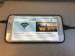 Using the South Western Railway free WiFi Service (England)