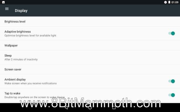 Nexus 7 custom rom Display