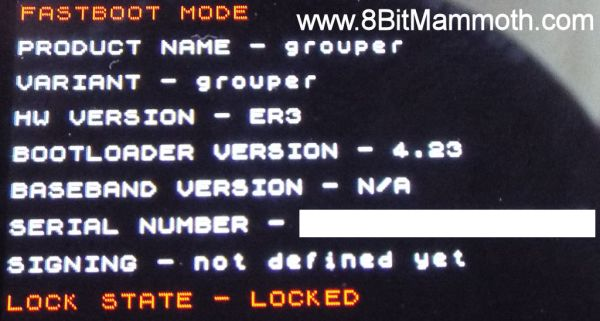 lock state locked
