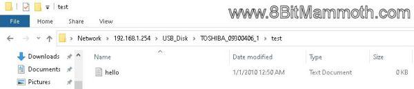 File Explorer Screenshot