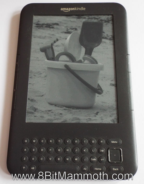 Kindle 3 Keyboard Custom Screensaver Photo