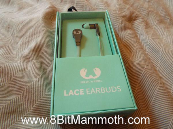 earphones in original packaging
