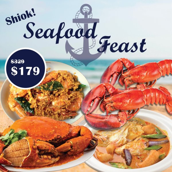 Seafood Feast by 8crabs