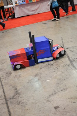 Honorable Mention - This is a little kid who can lay down and turn into a truck, what's not to like.