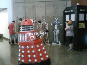 Dallas Comic Con- Dalek, TARDIS, etc