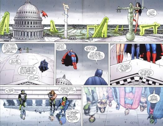 JLA Earth 2 - Supmern & Wonder Woman Rebuilding