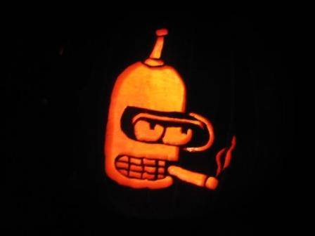 bender pumpkin