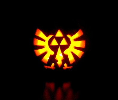 zelda pumpkin