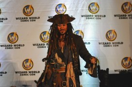 Number 3 - Jack Sparrow (This guy doesn't break character all weekend. Amazing.)