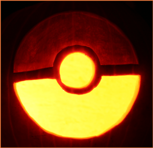 pokeball pumpkin