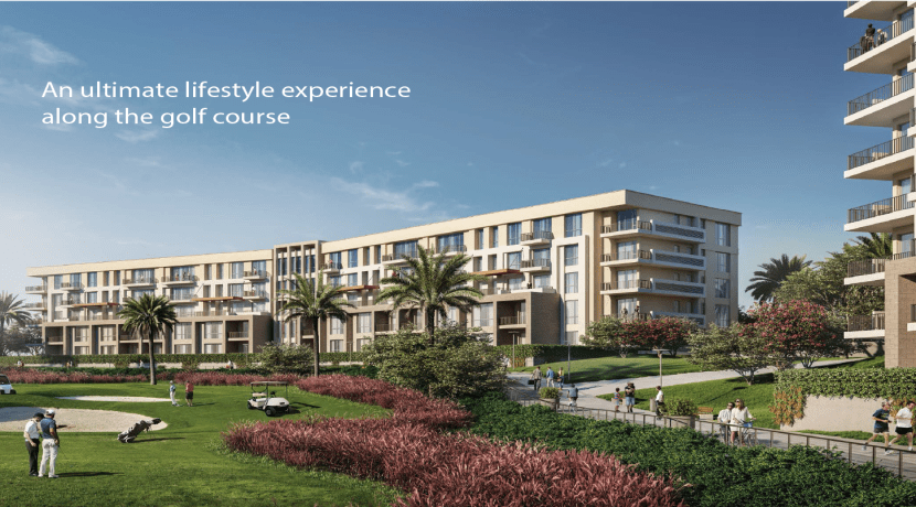Golf Residence Uptown Cairo Emaar Misr - Up Town Cairo - Emaar Misr Development-Apartments For Sale Golf View - 8 Gates Real Estate Egypt (12)