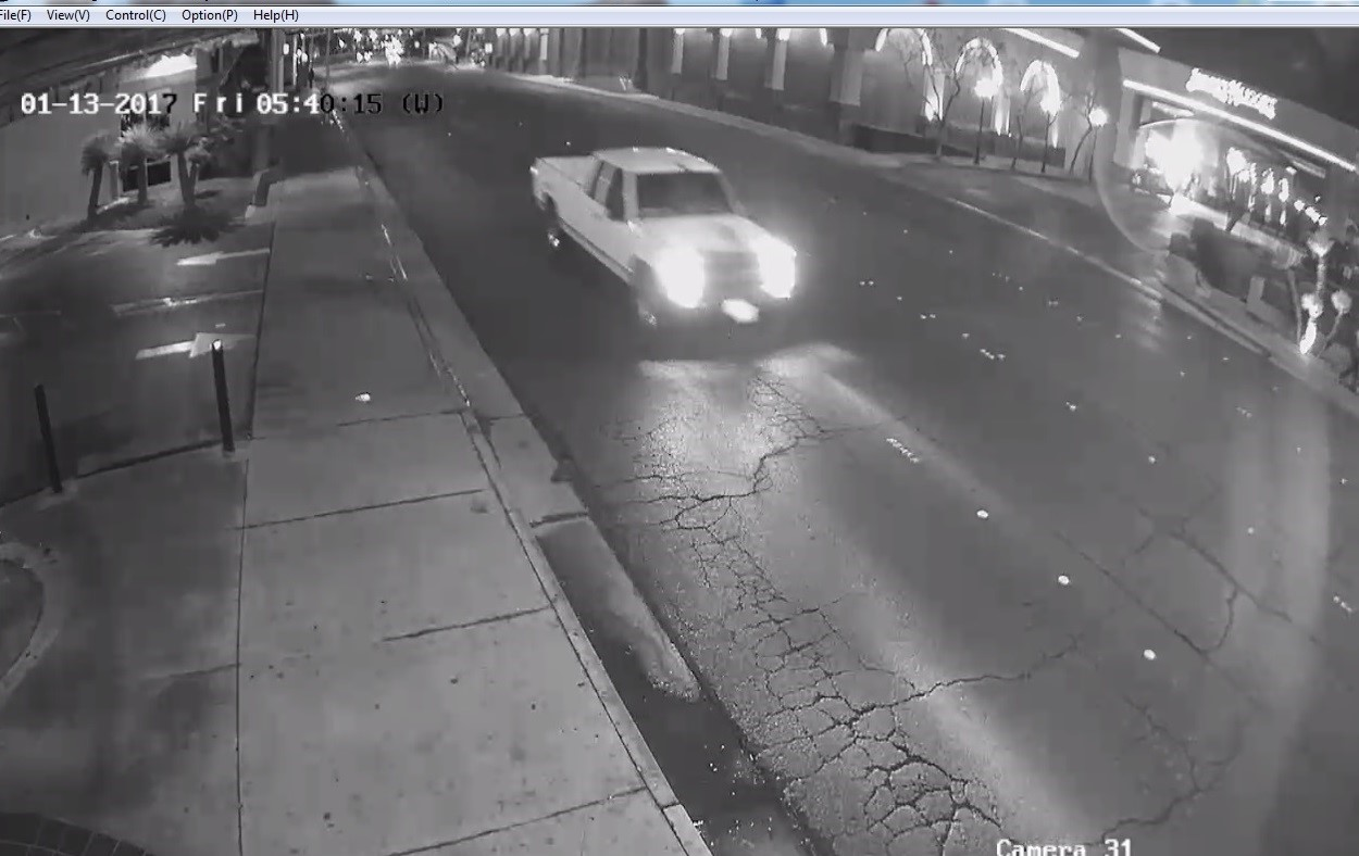 North Las Vegas Police releases photos of truck involved in hit-and