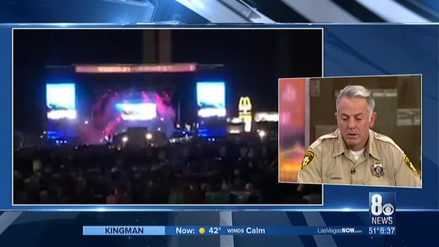 Kirsten sits down with sheriff Joe Lombardo