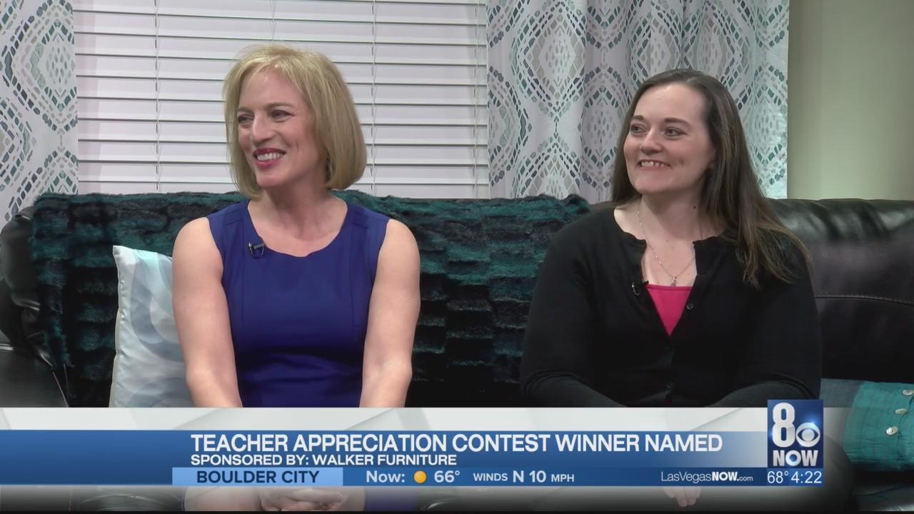 Teacher appreciation contest winner named
