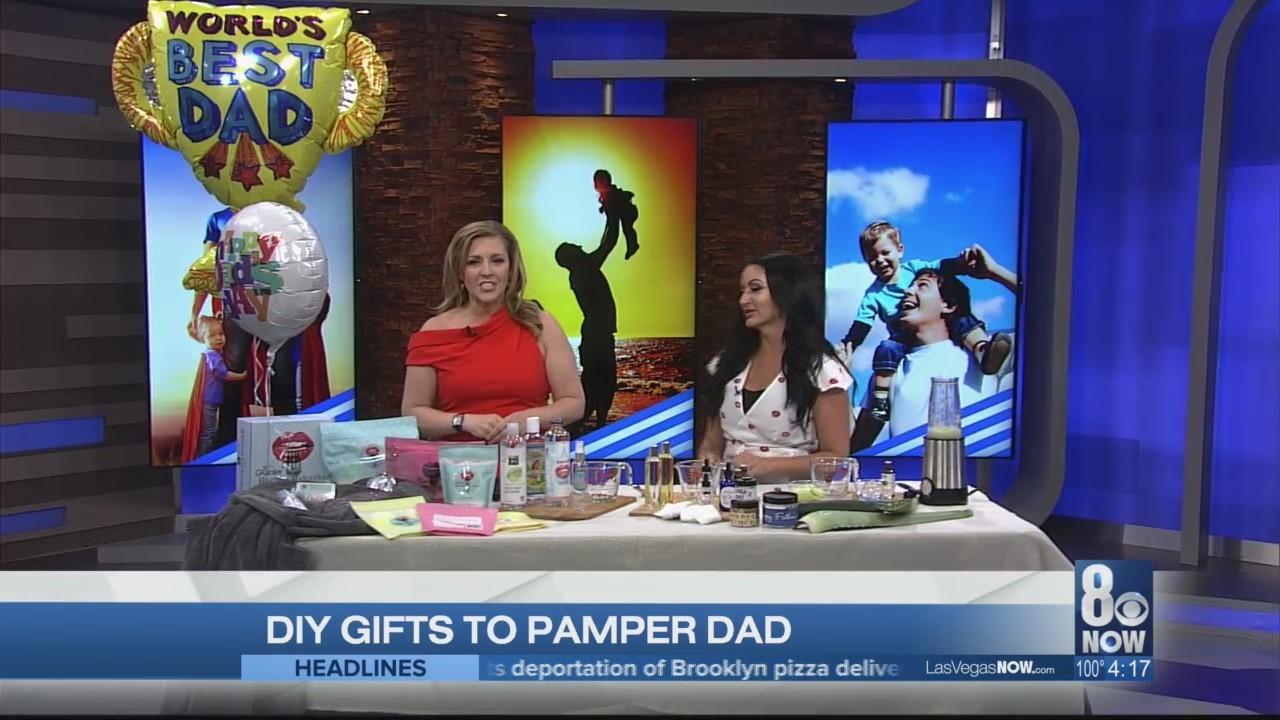 DIY gifts to pamper dad