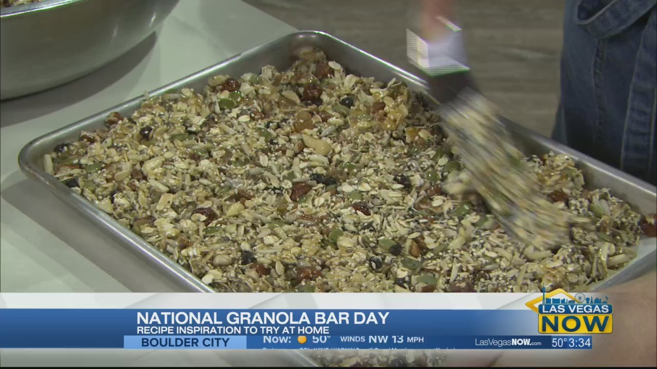 Celebrating National Granola Bar Day with Rooster Boy Cafe