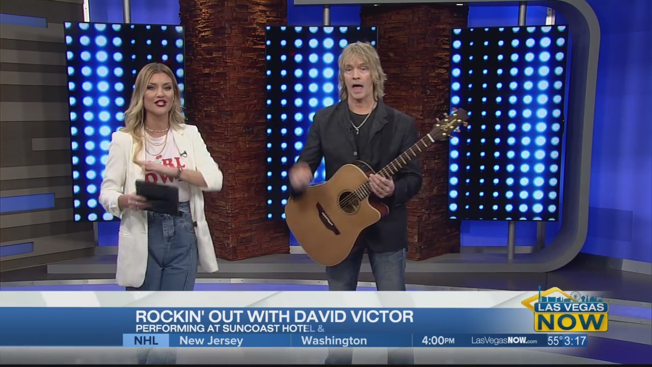 Rockin' out with David Victor