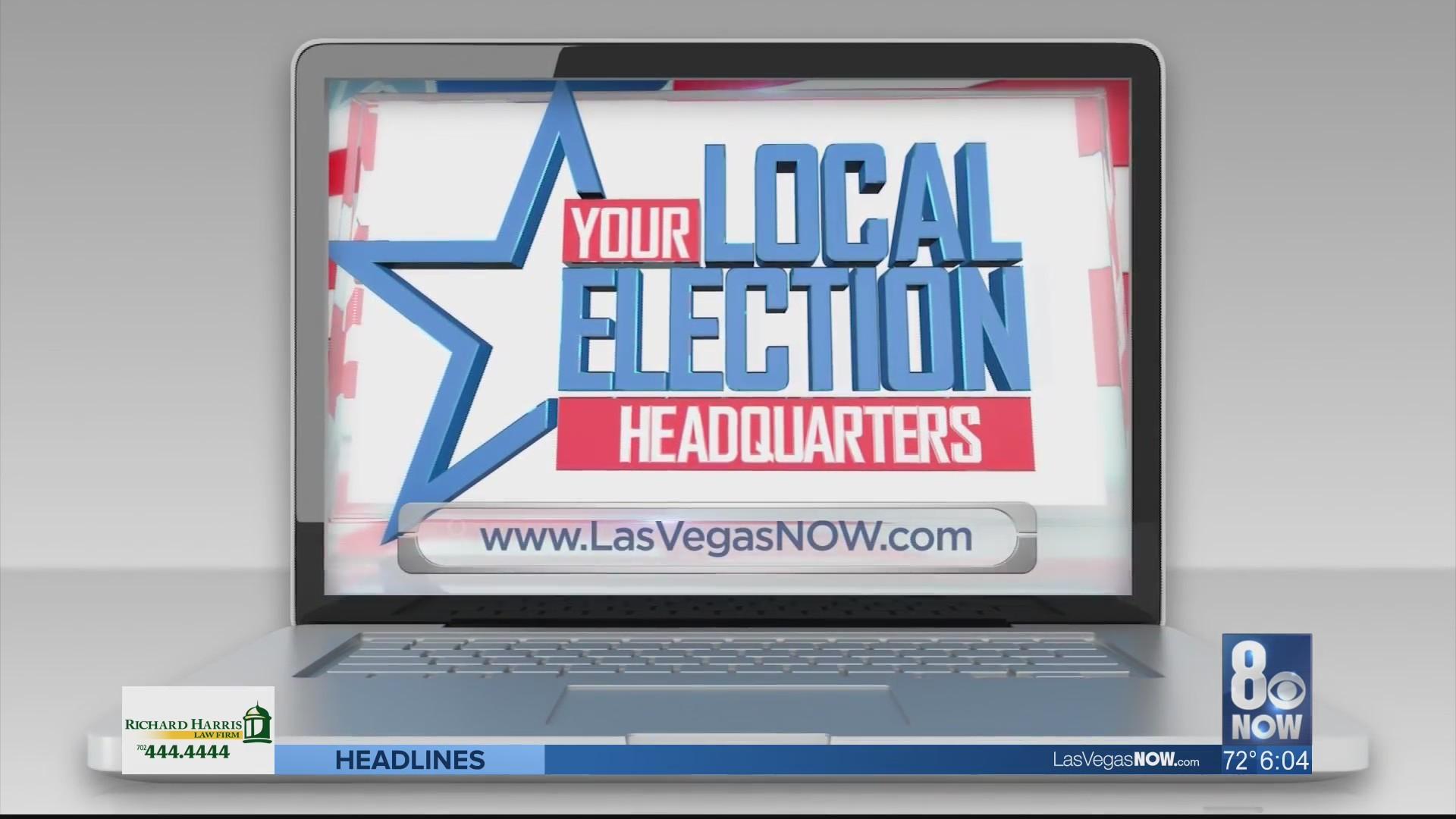 Democrats Campaign in Las Vegas