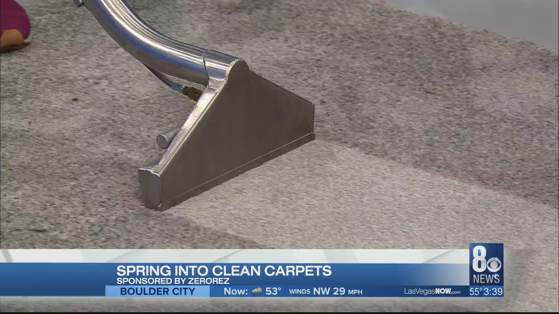 Spring into clean carpets with Zerorez