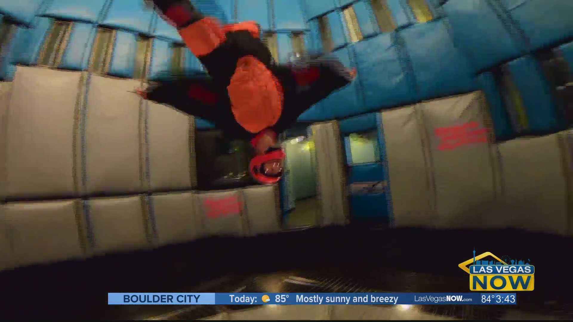 Flying high with mom at Vegas Indoor Skydiving