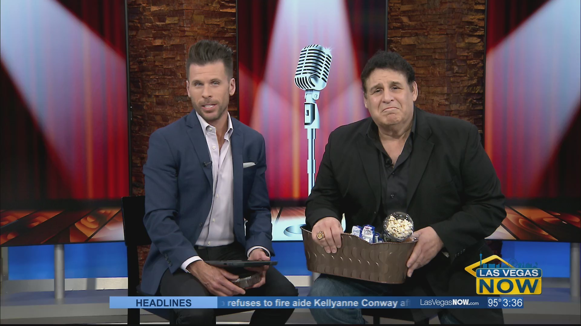 Greek comedy takes over Las Vegas