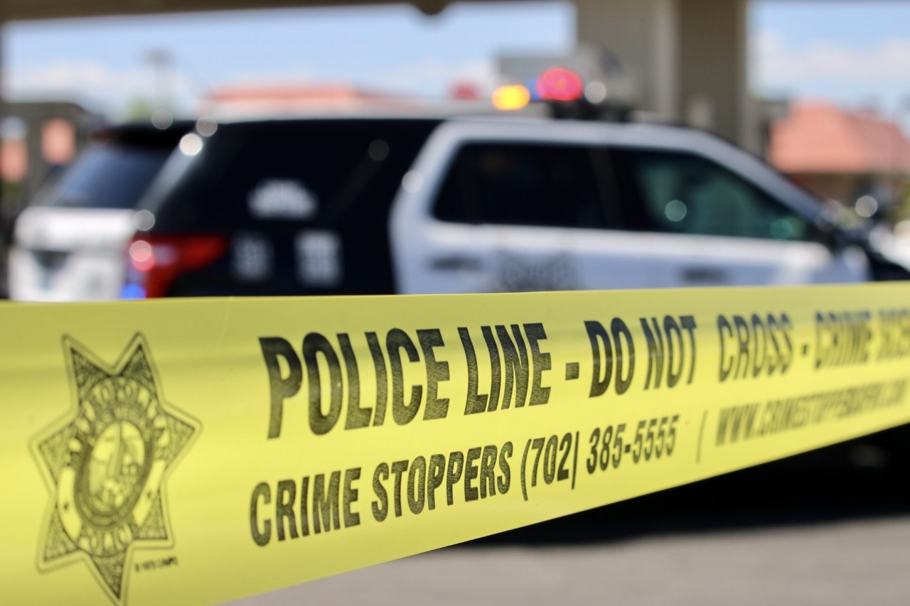 Metro Police crime scene