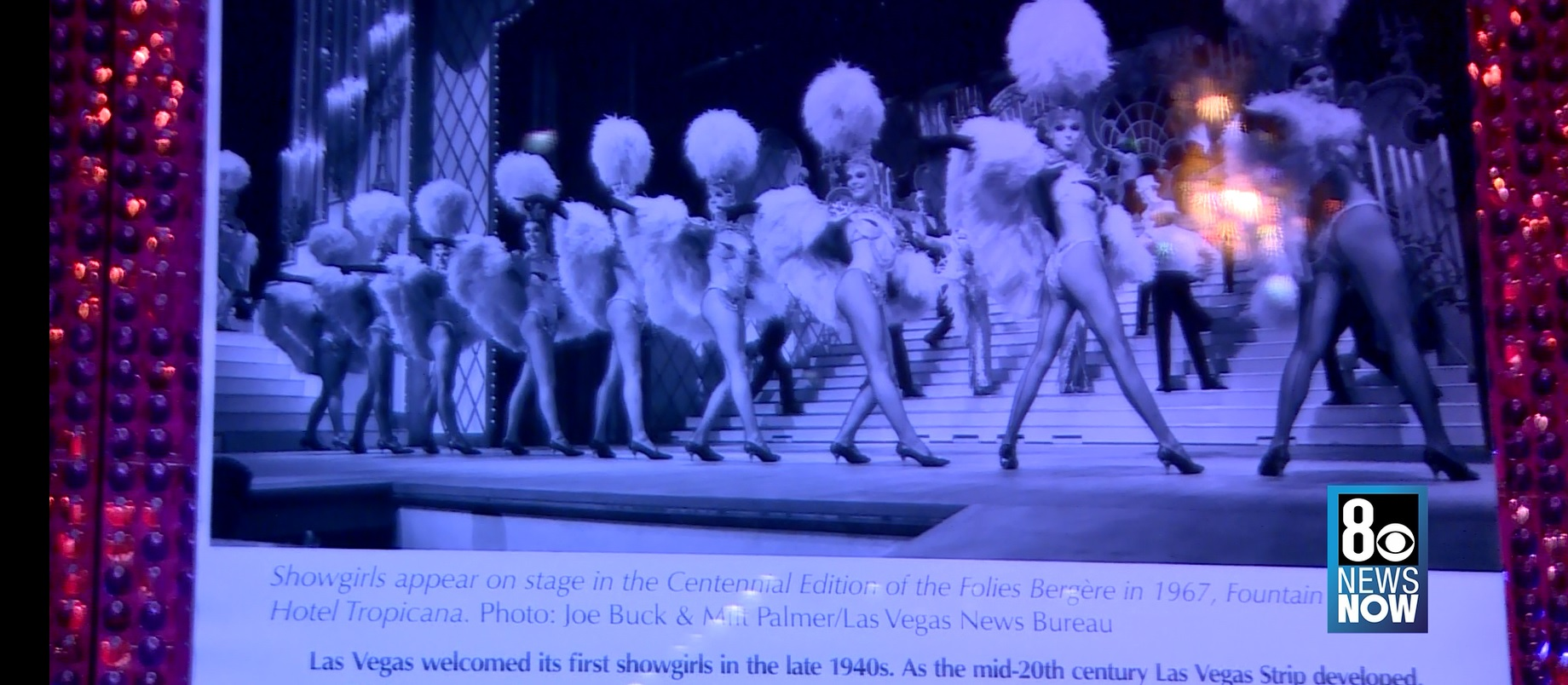 Showgirl exhibit