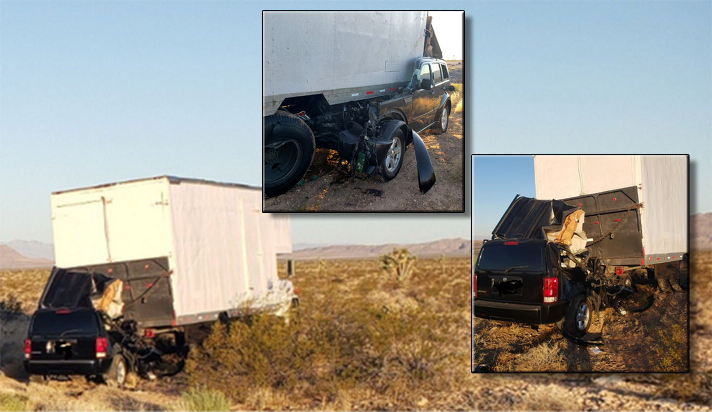 Fatal crash on I-15 near Mesquite | KLAS - 8 News Now
