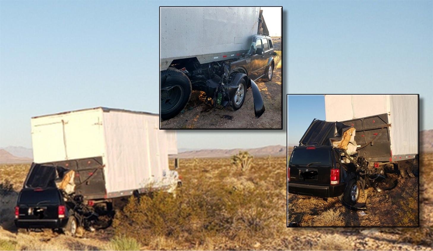 Fatal crash on I-15 near Mesquite   KLAS - 8 News Now