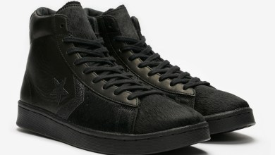 Photo of New Converse Pro Leather Mid 'Black Pony Hair' Now Available In Stores