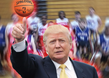 Donald Trump Scores 108 Points Against Wheelchair Basketball Team
