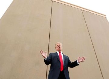 Germany Will Fund Trump To Build The Wall