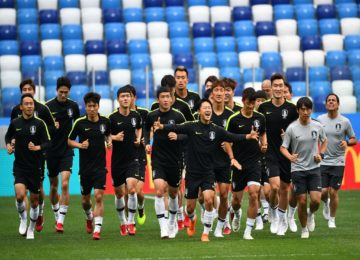 Football World Cup: South Korean Coach Made Players Swap Shirts To Cause Confusion